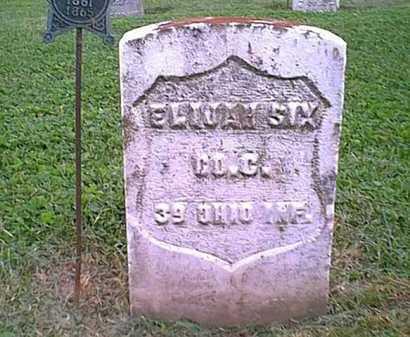 SIX, ELIJAH - Athens County, Ohio | ELIJAH SIX - Ohio Gravestone Photos