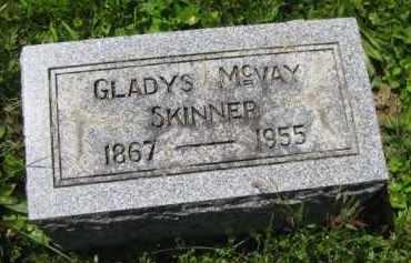MCVAY SKINNER, GLADYS - Athens County, Ohio | GLADYS MCVAY SKINNER - Ohio Gravestone Photos