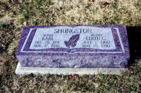 SPRINGSTON, EDITH CHLOE - Athens County, Ohio | EDITH CHLOE SPRINGSTON - Ohio Gravestone Photos