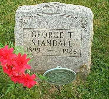 STANDALL, GEORGE T. - Athens County, Ohio | GEORGE T. STANDALL - Ohio Gravestone Photos