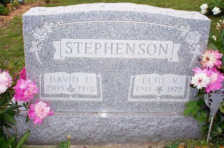 STEPHENSON, ELSIE V. - Athens County, Ohio | ELSIE V. STEPHENSON - Ohio Gravestone Photos