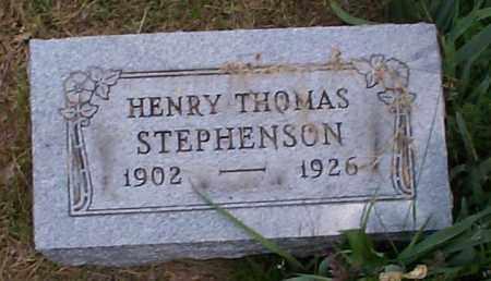 STEPHENSON, HENRY THOMAS - Athens County, Ohio | HENRY THOMAS STEPHENSON - Ohio Gravestone Photos