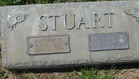 STUART, MARTHA W. - Athens County, Ohio | MARTHA W. STUART - Ohio Gravestone Photos