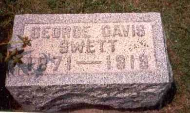 SWETT, GEORGE DAVIS - Athens County, Ohio | GEORGE DAVIS SWETT - Ohio Gravestone Photos