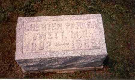 SWETT, M.D., CHESTER PARKER - Athens County, Ohio | CHESTER PARKER SWETT, M.D. - Ohio Gravestone Photos