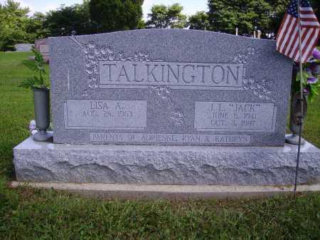 "TALKINGTON, J.L. ""JACK"" - Athens County, Ohio | J.L. ""JACK"" TALKINGTON - Ohio Gravestone Photos"