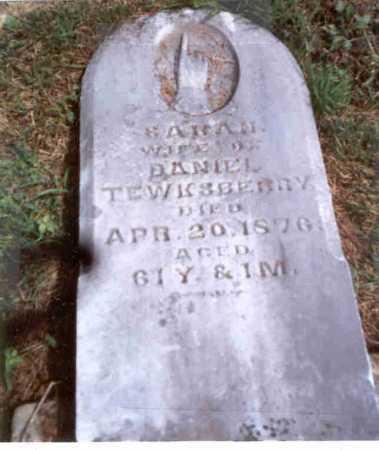 GILLOGLY TEWKSBERRY, SARAH - Athens County, Ohio | SARAH GILLOGLY TEWKSBERRY - Ohio Gravestone Photos