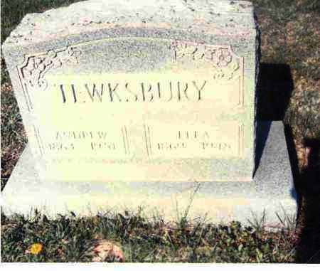 TEWKSBURY, ANDREW - Athens County, Ohio | ANDREW TEWKSBURY - Ohio Gravestone Photos