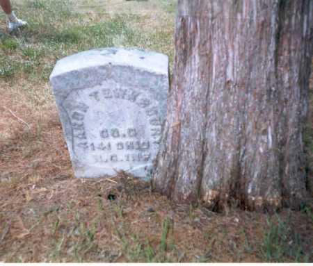 TEWKSBURY, AARON - Athens County, Ohio | AARON TEWKSBURY - Ohio Gravestone Photos