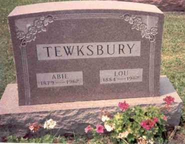 TEWKSBURY, ABIE - Athens County, Ohio | ABIE TEWKSBURY - Ohio Gravestone Photos