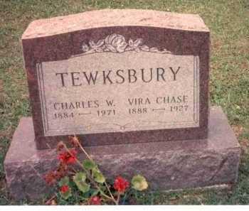 CHASE TEWKSBURY, VIRA - Athens County, Ohio | VIRA CHASE TEWKSBURY - Ohio Gravestone Photos