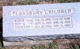 TEWKSBURY, RAYMOND - Athens County, Ohio | RAYMOND TEWKSBURY - Ohio Gravestone Photos