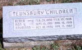 TEWKSBURY, ELMER - Athens County, Ohio | ELMER TEWKSBURY - Ohio Gravestone Photos