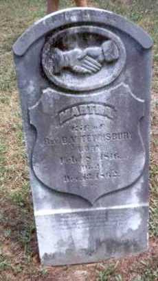 TEWKSBURY, MARTHA - Athens County, Ohio | MARTHA TEWKSBURY - Ohio Gravestone Photos