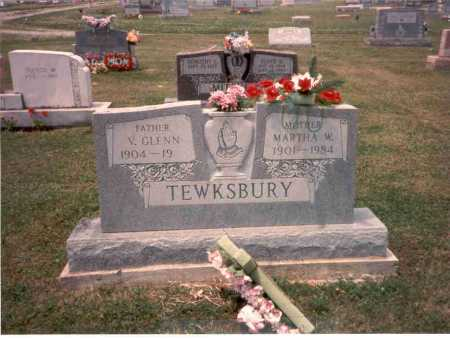 FRENCH TEWKSBURY, MARTHA - Athens County, Ohio | MARTHA FRENCH TEWKSBURY - Ohio Gravestone Photos