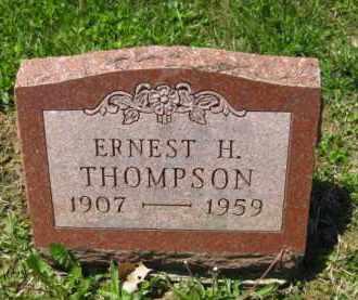 THOMPSON, ERNEST H. - Athens County, Ohio | ERNEST H. THOMPSON - Ohio Gravestone Photos