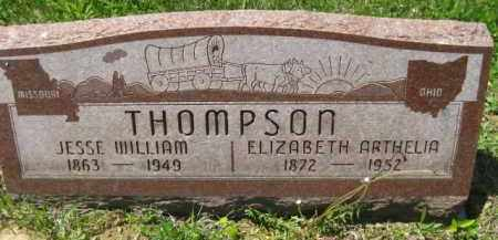 THOMPSON, JESSE WILLIAM - Athens County, Ohio | JESSE WILLIAM THOMPSON - Ohio Gravestone Photos