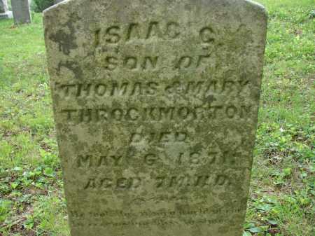 THROCKMORTON, ISAAC C. - Athens County, Ohio | ISAAC C. THROCKMORTON - Ohio Gravestone Photos
