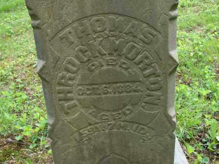 THROCKMORTON, THOMAS - Athens County, Ohio | THOMAS THROCKMORTON - Ohio Gravestone Photos