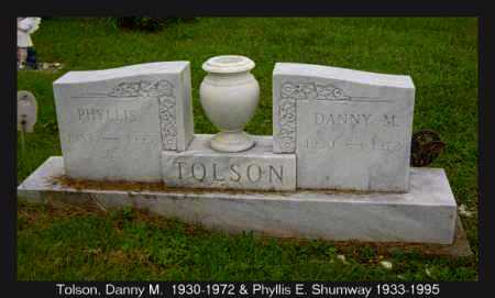 SHUMWAY TOLSON, PHYLLIS - Athens County, Ohio | PHYLLIS SHUMWAY TOLSON - Ohio Gravestone Photos