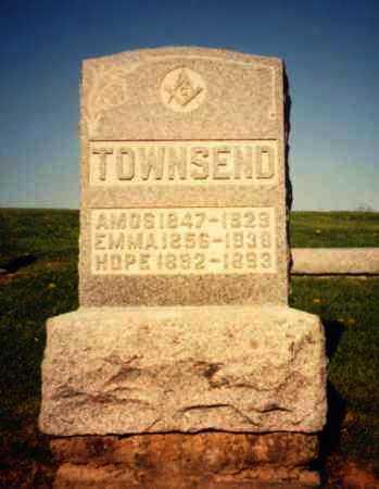 TOWNSEND, EMMA - Athens County, Ohio | EMMA TOWNSEND - Ohio Gravestone Photos