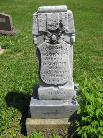 MCGRATH UINE, HULDAM J - Athens County, Ohio | HULDAM J MCGRATH UINE - Ohio Gravestone Photos