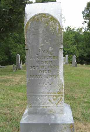 VAN BIBBER, LOYAL - Athens County, Ohio | LOYAL VAN BIBBER - Ohio Gravestone Photos