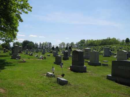 VIEW, ALEXANDER-UNION/OLD CUMBERLAND CEMETERY - Athens County, Ohio | ALEXANDER-UNION/OLD CUMBERLAND CEMETERY VIEW - Ohio Gravestone Photos