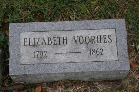 VOORHES, ELIZABETH - Athens County, Ohio | ELIZABETH VOORHES - Ohio Gravestone Photos