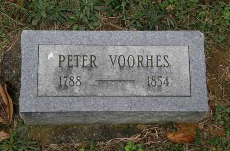 VOORHES, PETER - Athens County, Ohio   PETER VOORHES - Ohio Gravestone Photos