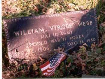 WEBB, WILLIAM VIRGLE - Athens County, Ohio   WILLIAM VIRGLE WEBB - Ohio Gravestone Photos