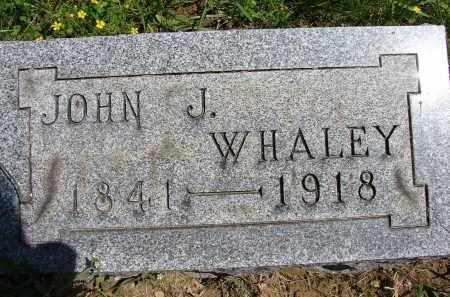 WHALEY, JOHN J - Athens County, Ohio | JOHN J WHALEY - Ohio Gravestone Photos