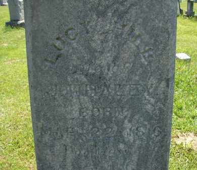 WHALEY, LUCY - Athens County, Ohio | LUCY WHALEY - Ohio Gravestone Photos