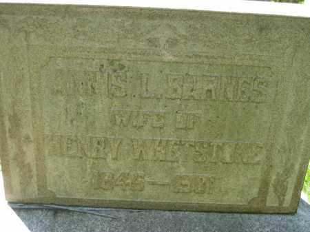 WHETSTONE, ANNIS L. - Athens County, Ohio | ANNIS L. WHETSTONE - Ohio Gravestone Photos