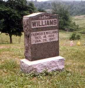WILLIAMS, FRANCIS - Athens County, Ohio   FRANCIS WILLIAMS - Ohio Gravestone Photos