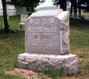 WILLIAMS, JOHN - Athens County, Ohio | JOHN WILLIAMS - Ohio Gravestone Photos