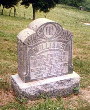WILLIAMS, ELIZABETH - Athens County, Ohio | ELIZABETH WILLIAMS - Ohio Gravestone Photos