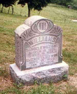 WILLIAMS, SAMUEL - Athens County, Ohio | SAMUEL WILLIAMS - Ohio Gravestone Photos