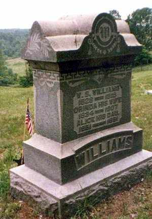 SLOAN WILLIAMS, ORINDA - Athens County, Ohio | ORINDA SLOAN WILLIAMS - Ohio Gravestone Photos