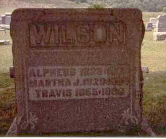 MEANS WILSON, MARTHA JANE - Athens County, Ohio | MARTHA JANE MEANS WILSON - Ohio Gravestone Photos