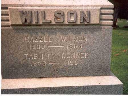WILSON, BAZZLE - Athens County, Ohio | BAZZLE WILSON - Ohio Gravestone Photos