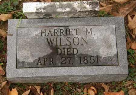WILSON, HARRIET M. - Athens County, Ohio   HARRIET M. WILSON - Ohio Gravestone Photos