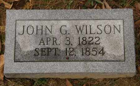WILSON, JOHN G. - Athens County, Ohio   JOHN G. WILSON - Ohio Gravestone Photos