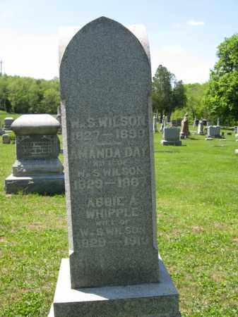 WILSON, AMANDA - Athens County, Ohio | AMANDA WILSON - Ohio Gravestone Photos