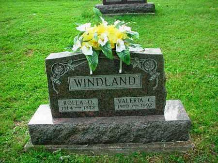 WINDLAND, VALERIA C. - Athens County, Ohio | VALERIA C. WINDLAND - Ohio Gravestone Photos