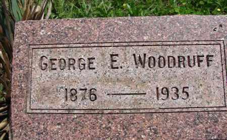 WOODRUFF, GEORGE E. - Athens County, Ohio | GEORGE E. WOODRUFF - Ohio Gravestone Photos