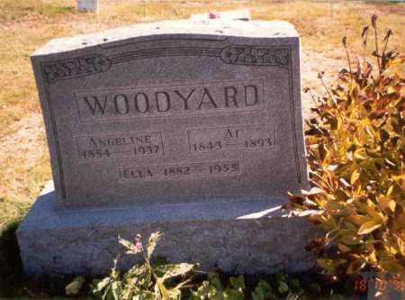 ELLIS WOODYARD, ANGELINE - Athens County, Ohio   ANGELINE ELLIS WOODYARD - Ohio Gravestone Photos