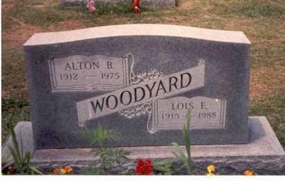 WOODYARD, LOIS E. - Athens County, Ohio | LOIS E. WOODYARD - Ohio Gravestone Photos