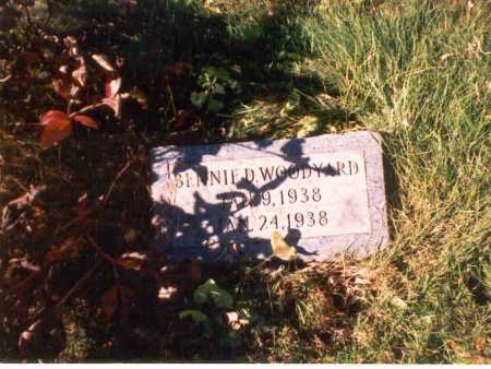 WOODYARD, BENNIE D. - Athens County, Ohio | BENNIE D. WOODYARD - Ohio Gravestone Photos