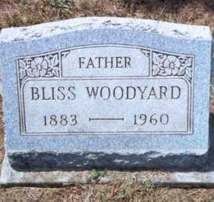 WOODYARD, BLISS - Athens County, Ohio | BLISS WOODYARD - Ohio Gravestone Photos